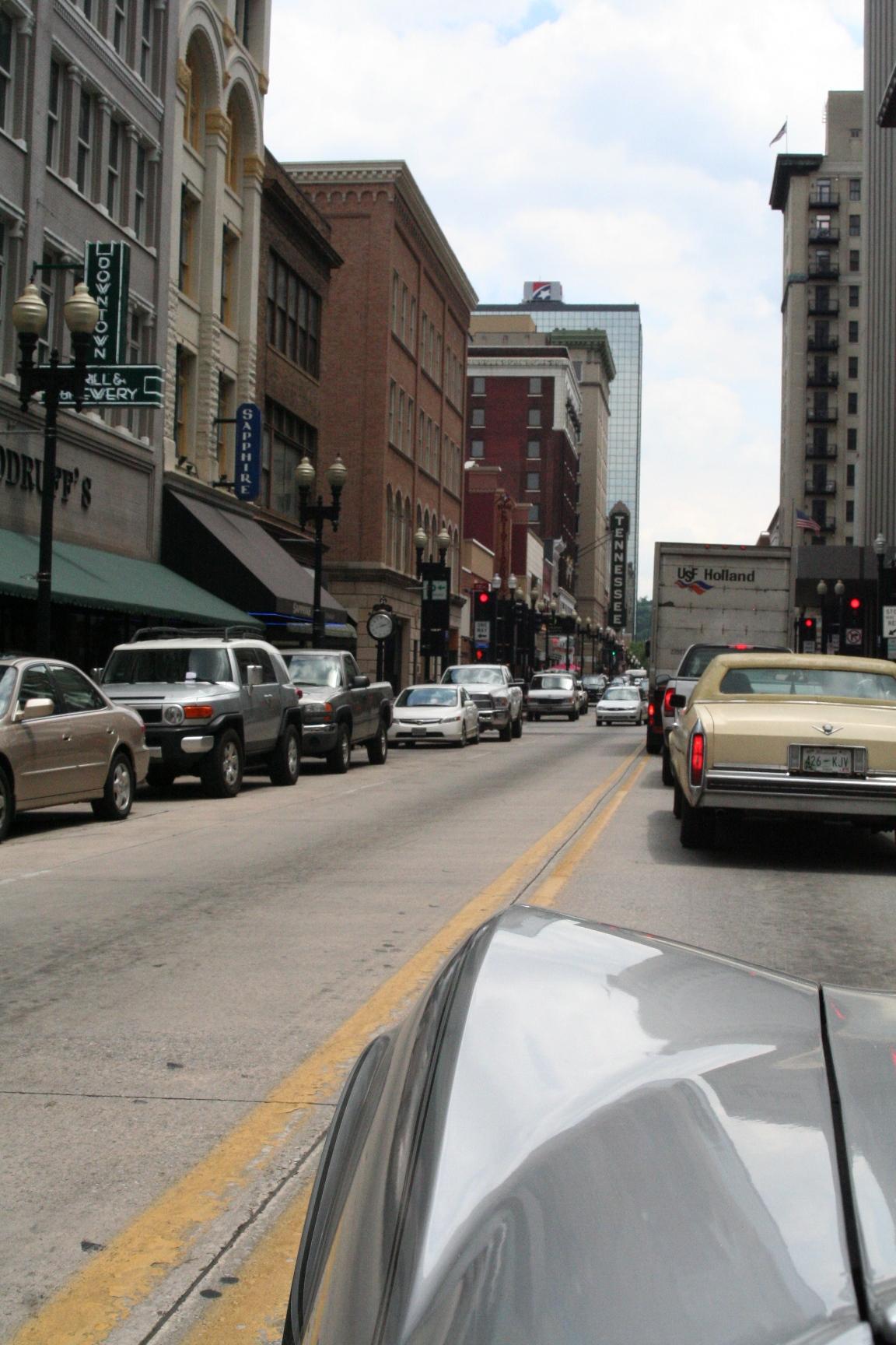 Downtown Knoxville, Tenn.