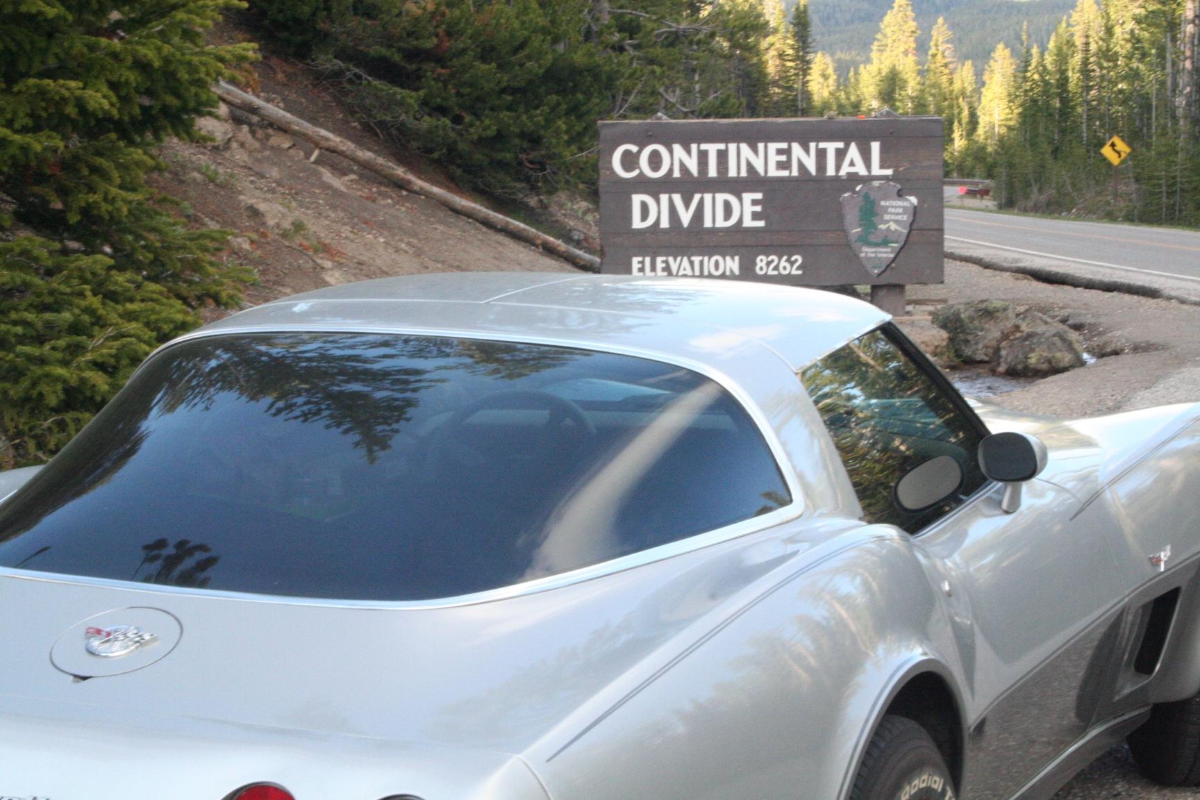Continental Divide, Yellowstone Nat'l Park