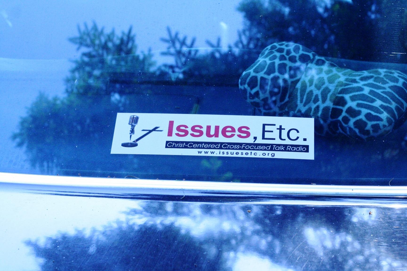 Issues, Etc.